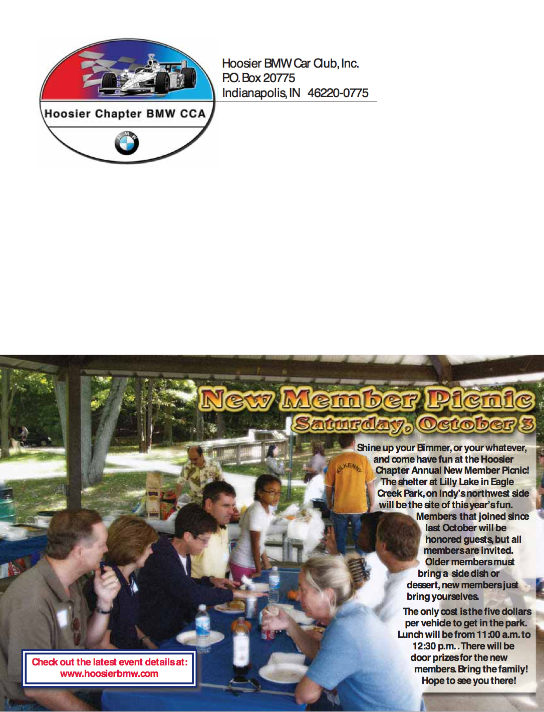 Hoosier BMW Newsletter